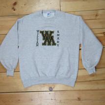 1990's William & Mary College Men's XL Crew Heather Gray Sweatshirt - Vi... - $37.85 CAD