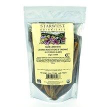 "Starwest Botanicals Organic 6"" Licorice Root Sticks, 4 Ounces image 3"