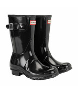NEW Hunter Ladies' Original Short Gloss Rain Boot SELECT COLOR & SIZE FR... - $109.99