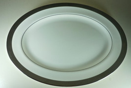 Waterford Kells Platinum Oval Serving Platter Imperfect - $34.62