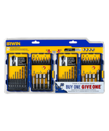 Irwin 1853418 Visegrip Drill And Drive Set - 20 Pieces - 2 Pack - $24.70