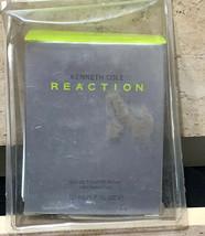 NIB Kenneth Cole Reaction Eau De Toilette Spray 1.7oz - Sealed NIB - $25.00