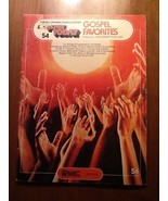 "EZ PLAY TODAY VOL 54 ""GOSPEL FAVORITES"" for organ piano & electronic key... - $3.96"