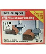VERMONT AMERICAN Roundover/Beading Carbide Tipped Router Bits NEW Multip... - $11.50+