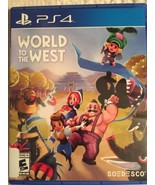 WORLD TO THE WEST Sony PlayStation 4, 2017  PS4 Limited Run Games SOEDES... - $12.59