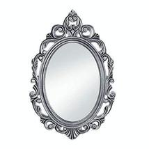 Accent Plus Decorative Mirrors For Walls, Rustic Contemporary Silver Royal Crown - $39.99