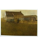 Andrew Wyeth Huecograbado Estampado The Mill & Marsh Hawk, - $19.81