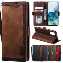 Retro Leather Flip Wallet Case Cover For Samsung Galaxy S20 Ultra/Note 10/S10/S9 - $55.00