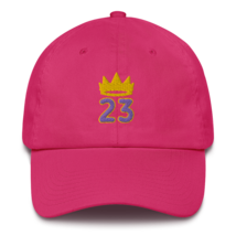 King James hat / King 23 hat / 3d embroidery / basketball hat /23 Cotton Cap  image 7