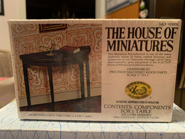 Dollhouse House of Miniatures Hepplewhite Side Table Circa Early 1800's No 40004 - $14.99