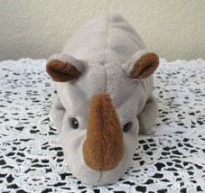 Ty Beanie Baby Spike the Rhinoceros NO TAG - $4.45