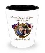Prince Harry And Meghan Are Engaged Commemorative Shot Glass - $11.99