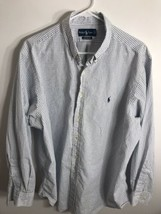 Ralph Lauren Polo Long Sleeve Classic Fit Button Down Dress Shirt 17 1/2 34/35 - $14.80