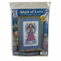 Angel of Love Picture Counted Cross Stitch Embroidery Kit 9992 - $19.79