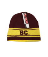 Boston College Adult Unisex Maroon/Gold Reversible Beanie, One Size - $9.89