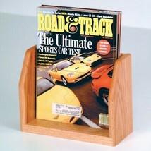 En Bois Comptoir Brochure Présentation Bureau Phamphet Dépliant Rack Menu - $31.67+