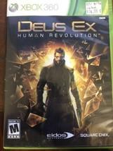 Deus Ex: Human Revolution (Microsoft Xbox 360, 2011) - $4.20