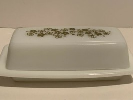 Vintage Pyrex Butter Dish Crazy Daisy Spring Blossom - $9.89