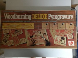 Vintage Deluxe Woodburning Kit by Lakeside - $18.63