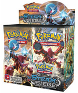 Pokemon Cards XY Steam Siege 6 Booster Pack Lot 1/6 Booster Box TCG Card... - $25.95