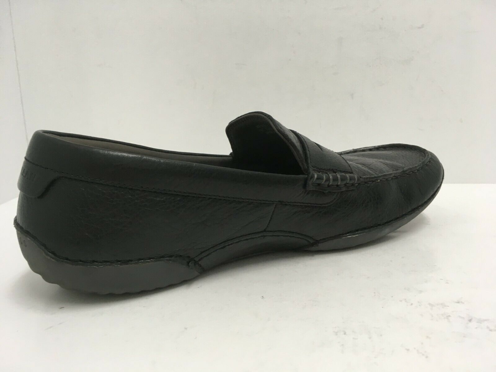 Cole Haan Men's MOTOGRAND Penny Loafer Black Leather Driving Shoes Size 11M GUC image 6