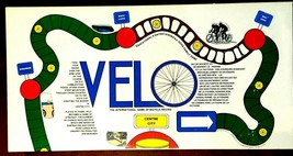 Velo Centre City Board Game 1977 Vintage Biking Cycling Game - $16.78
