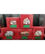 Complete Set of 5~Vtg 1994 Hallmark Ornaments Sarah Plain & Tall Town Co... - $44.50