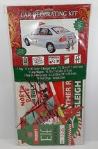 Christmas Santa's Helper Car Decorating Kit - 19 Pieces - New In Pkg - $18.69