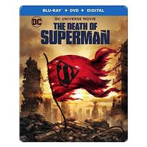 DCU: The Death of Superman Limited Edition Steelbook (Blu-Ray + DVD + Digital)