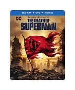 DCU: The Death of Superman Limited Edition Steelbook (Blu-Ray + DVD + Di... - $29.95