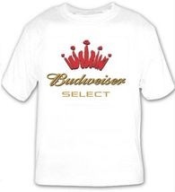 Bud Select Beer T Shirt Choose Size  S M L XL 2XL 3XL 4XL 5XL Budweiser - $17.49+