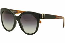 Burberry Women's BE4243 BE/4243 36378G Black/Havana Cat Eye Sunglasses 55mm - $376.20
