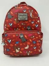 Disney Parks Forest Friends Loungefly Mini Backpack Woodland Meeko Tod Owl NWT A - $84.14