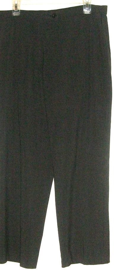 WOMEN'S GRAY FITTED WAIST PANTS SIZE 14S