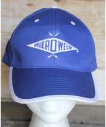 MICROWELD Ball Cap Adjustable Embroidered Hat Welder Welding Micro-Weld NOS - $33.85