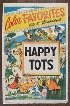 *HAPPY TOTS (1939) Columbia Short-Subject Animated Cartoon 1949 Re-Relea... - $95.00