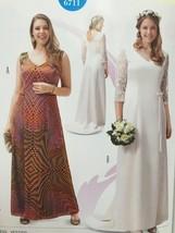 Burda Sewing Pattern 6711 Misses Ladies Dress Size 18-32 New - $13.43