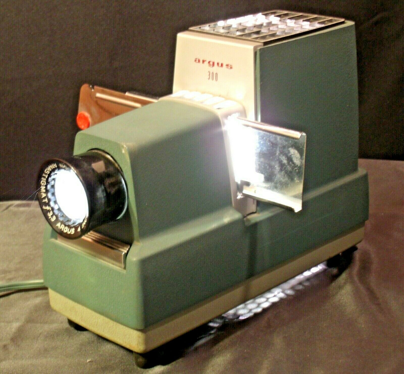 Argus 300 Model III Video Camera  AA19-2050 Vintage (USA)