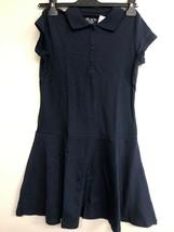 The Childrens Place Short Sleeve Uniform Polo Dress, Large 10/12 - $9.75