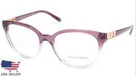 New Tiffany & Co Tf 2145 8222 Purple Grad Lilac Eyeglasses Frame 52-18-140 Italy - $183.14