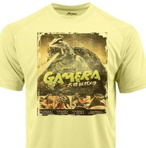 Gamera Dri Fit graphic Tshirt moisture wick SPF retro comic sport Sun Shirt image 1