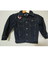 LRG Brand Girl Blue Denim Jacket Size 5 Disney Frozen Embroidered Child - $24.99