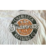 Lucky Brand Shamrock Motor Oil Shirt XL - $9.49