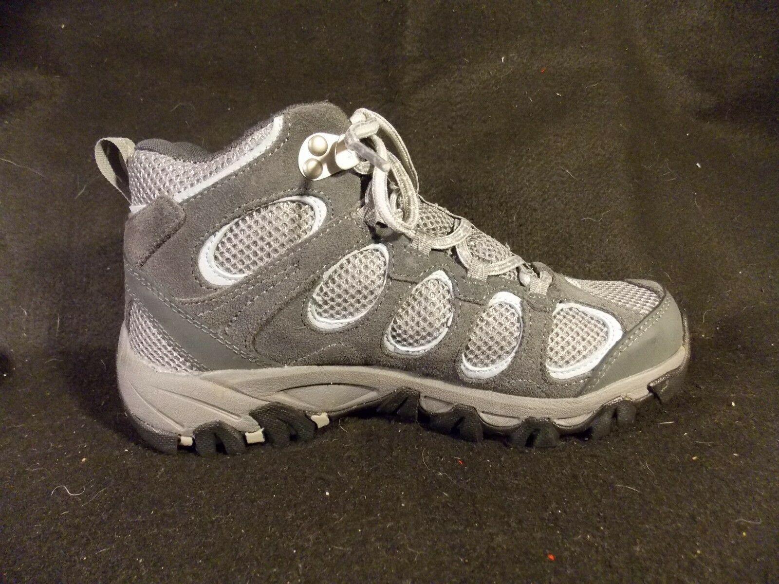 Women's Merrell Hilltop Vent Waterproof Castle Rock Gray Hiking Shoes Size 6 image 3