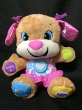 Fisher-Price Laugh and Learn ABC Smart Stages Interactive Girl Puppy Plu... - $12.99