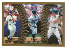 Jim Thome 1999 Topps League Leaders Card #451 Cleveland Indians Free S&H - $1.20