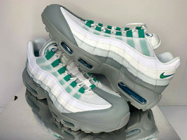 NEW SIZE 11.5 MEN Nike Air Max 95 ESSENTIAL Clear Emerald Running Traini... - $98.78