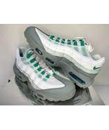 NEW SIZE 11.5 MEN Nike Air Max 95 ESSENTIAL Clear Emerald Running Traini... - $98.78