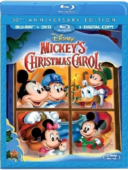 Disney Mickey's Christmas Carol 30th Anniversary (Blu-ray + DVD)