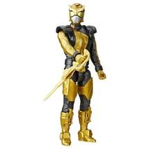 """Power Rangers Gold Ranger 12"""" Action Figure  2018 Retired - $21.42"""